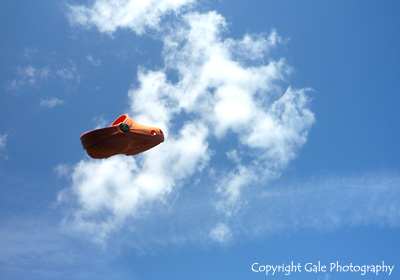 """Flying shoe"" by Gale Photography"