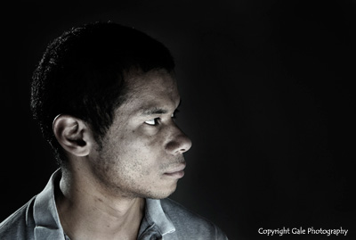 """""""Dramatic Portrait"""" - by Gale Photography"""