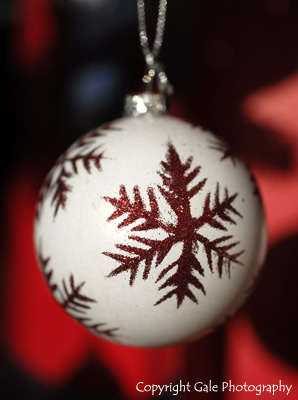 """Christmas tree decoration"" by Gale Photography"