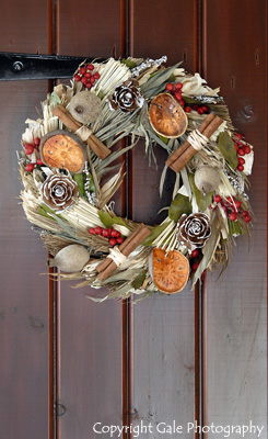 """Christmas wreath"" by Gale Photography"