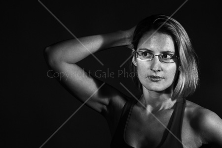 """Directional light studio portrait"" by Gale Photography"